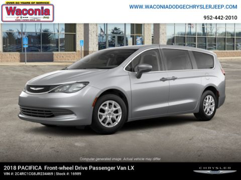 New 2018 CHRYSLER Pacifica LX FWD