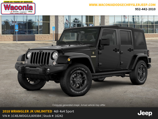 New 2018 JEEP Wrangler Unlimited Freedom Edition 4x4
