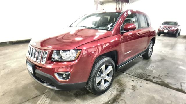 Certified Pre-Owned 2016 Jeep Compass 4WD 4dr High Altitude Edition