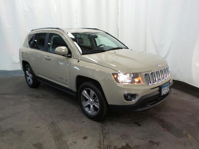 Certified Pre Owned 2017 Jeep Compass High Altitude 4x4 Ltd Avail