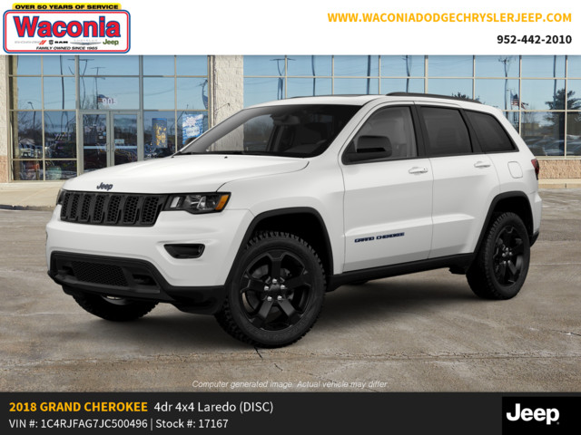New 2018 JEEP Grand Cherokee Upland 4x4 *Ltd Avail*