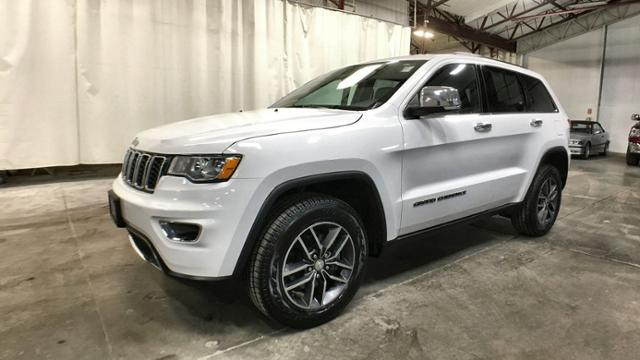 Certified Pre-Owned 2017 Jeep Grand Cherokee Limited 4x4