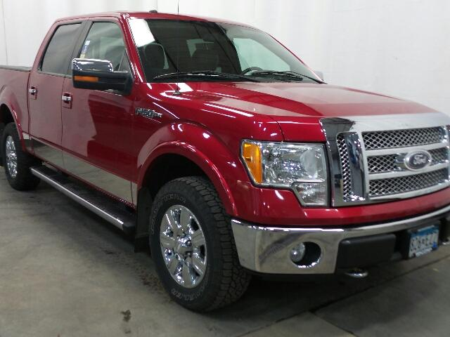Pre-Owned 2010 Ford F-150 4WD SuperCrew 145 Lariat