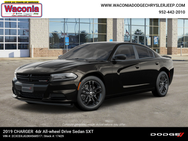 New 2019 DODGE Charger SXT AWD