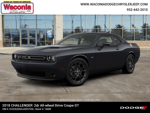 New 2018 DODGE Challenger GT AWD Coupe in Waconia #16688 | Waconia