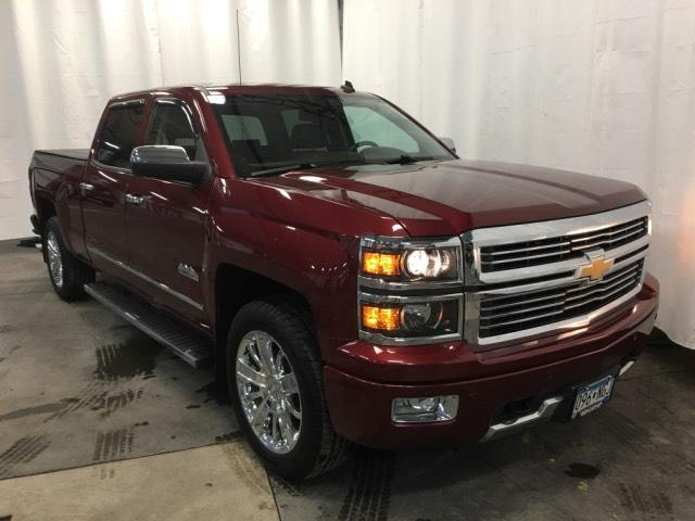 Pre Owned 2014 Chevrolet Silverado 1500 4WD Crew Cab 143.5 High Country
