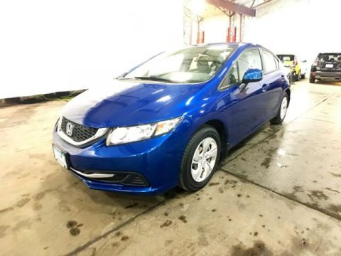 Pre-Owned 2013 Honda Civic 4dr Auto LX