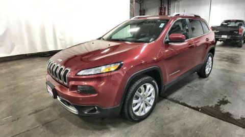 Certified Pre-Owned 2017 Jeep Cherokee Limited FWD
