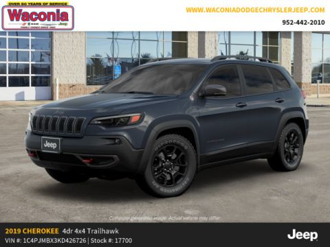New 2019 JEEP Cherokee Trailhawk 4x4