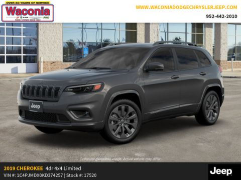 New 2019 JEEP Cherokee High Altitude 4x4