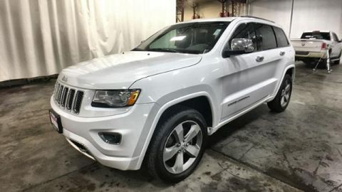 Pre-Owned 2016 Jeep Grand Cherokee 4WD 4dr Overland