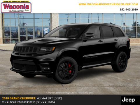 New 2018 JEEP Grand Cherokee SRT 4x4 *Ltd Avail*