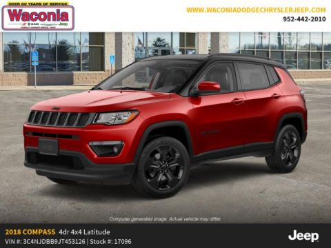 Pre-Owned 2018 Jeep Compass Altitude 4x4