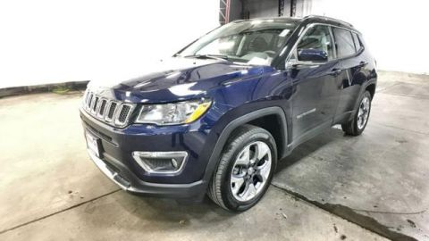 Certified Pre-Owned 2018 Jeep Compass Limited 4x4